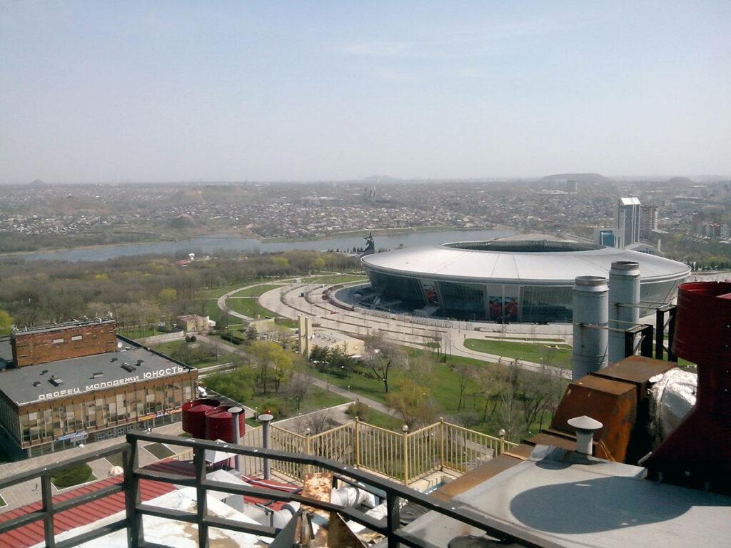 Донецк с крыш города