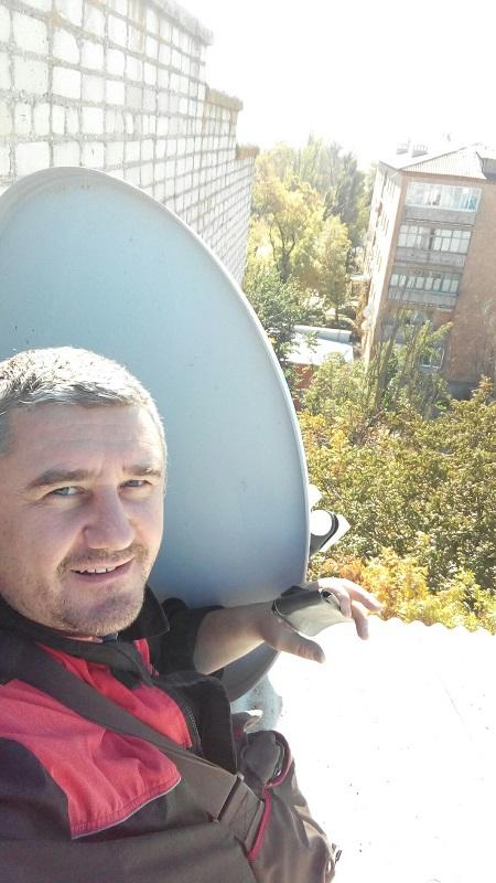Установка антенны в Новоазовске