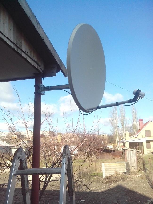 Установка спутниковой антенны в Безыменном